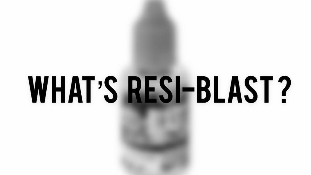 Resin Art: レジブラストって何?